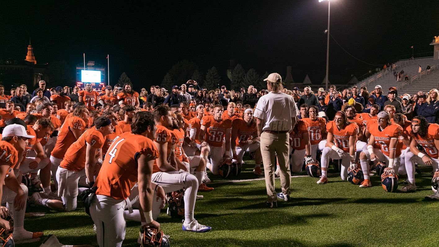 The Wheaton football program announces 38 newcomers for the