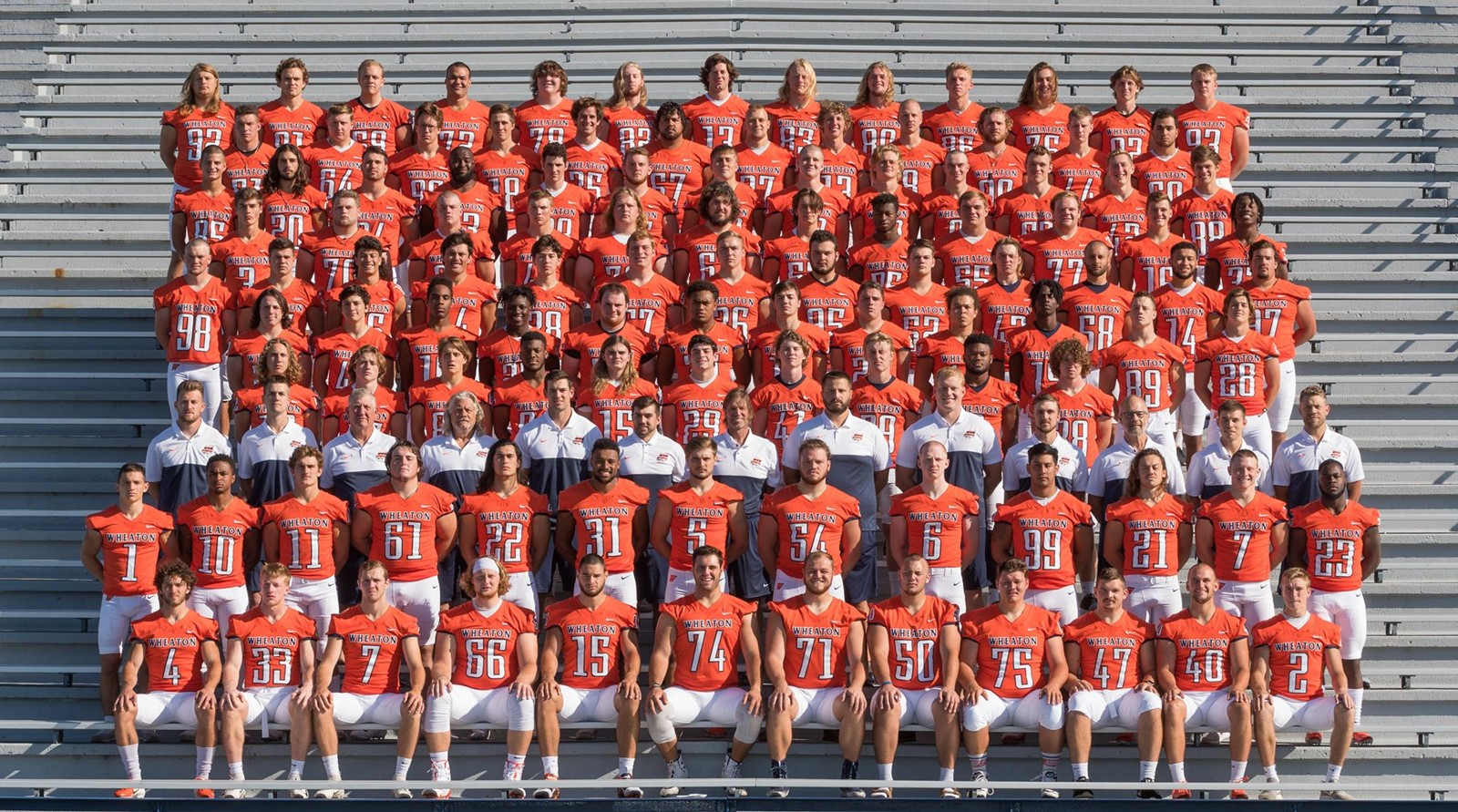 2019 Football Roster - Wheaton College Athletics